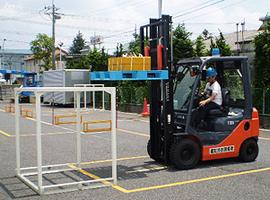 トヨタL&F栃木のフォークリフト運転技能講習:フォークリフト運転技能講習